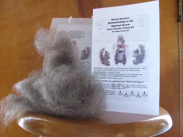 Squirrel Felting Kit